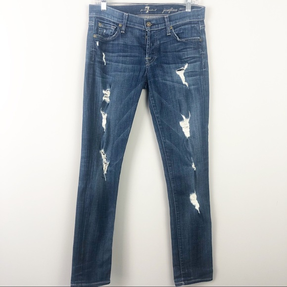 7 For All Mankind Denim - 7 For All Mankind | Josefina Skinny BF Jeans